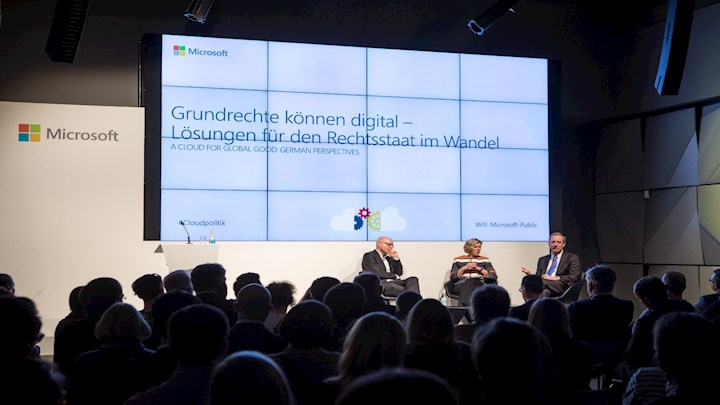 A Cloud for Global Good: German Perspectives