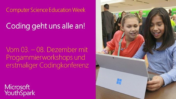 Coding geht uns alle an! Die Computer Science Education Week vom 3. - 8. Dezember