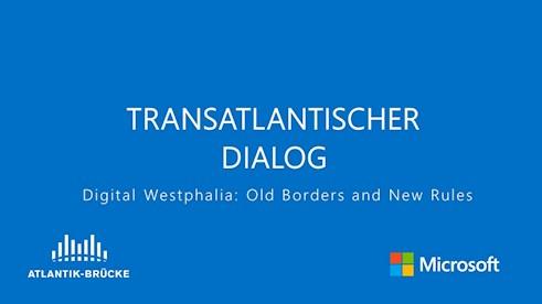 Transatlantischer Dialog 12.12.2017