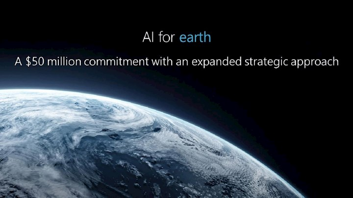 AI for Earth can be a game-changer for our planet