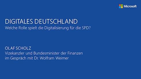 ABGESAGT: Digitales Deutschland - Welche Rolle spielt die Digitalisierung für die SPD?