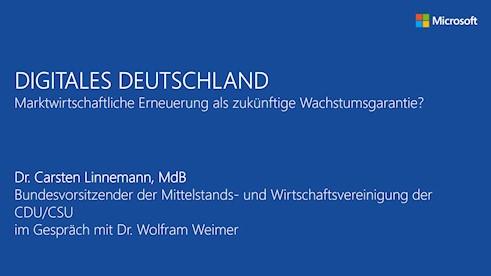 Digitales Deutschland: Marktwirtschaftliche Erneuerung als zukünftige Wachstumsgarantie?