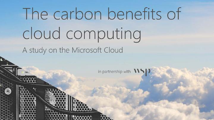 Neue Studie bestätigt: Microsoft-Cloud am energie- und CO2-effizientesten