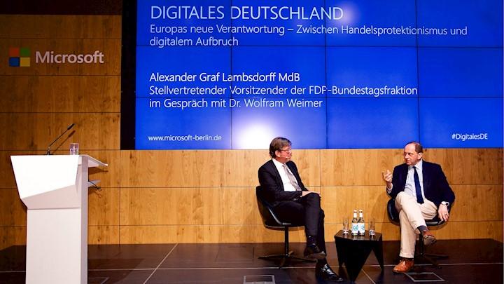 Von Brüssel nach Berlin: Alexander Graf Lambsdorff über seine Vorstellung eines digitalen Europas