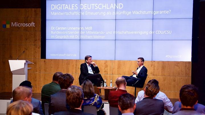 Digitalisierung im Mittelstand: Ein Abend mit Carsten Linnemann