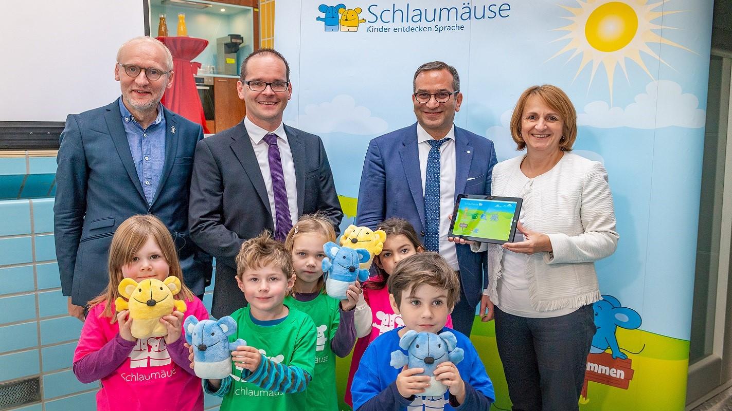 Schlaumäuse zu Besuch beim AWO-Bezirksverband Braunschweig e. V.