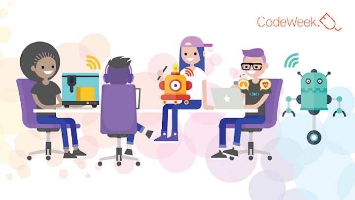 Code your Life zum fünften Mal bei der Europe Code Week