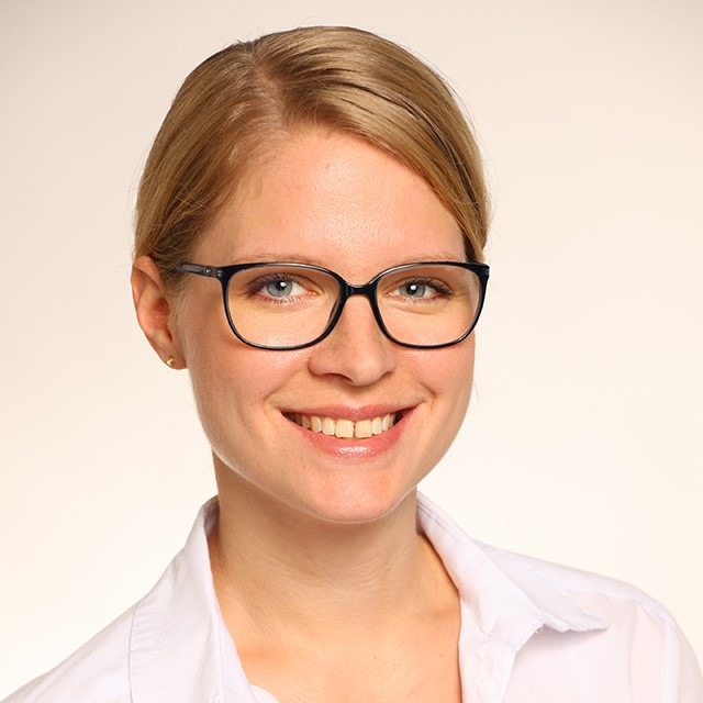 Franziska  Gens, Budgetmanagerin und Teamassistentin