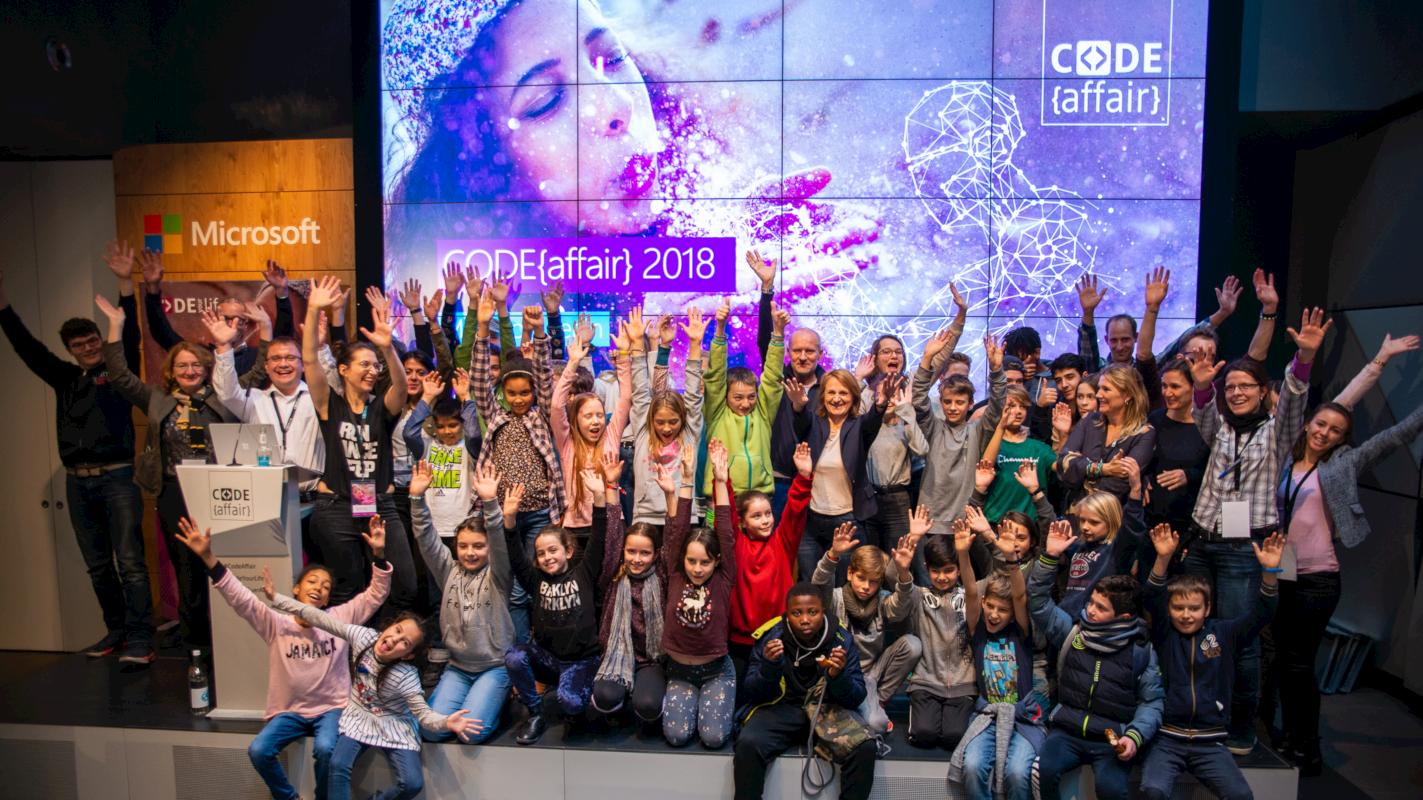 CODEaffair 2018: Programmieren mit Kindern im Zeitalter Künstlicher Intelligenz