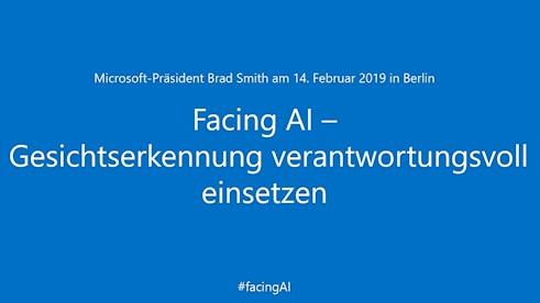 Facing AI – Gesichtserkennung verantwortungsvoll einsetzen