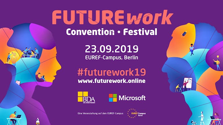 FUTUREwork Convention & Festival am 23. September 2019 in Berlin