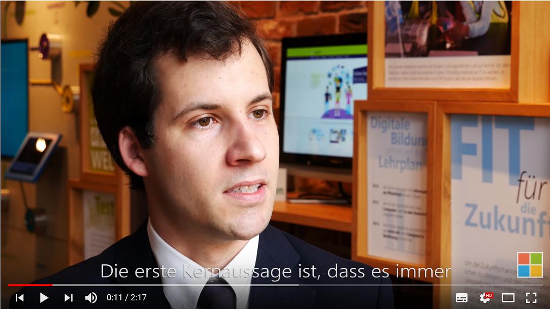 Tim Maurer im Videointerview